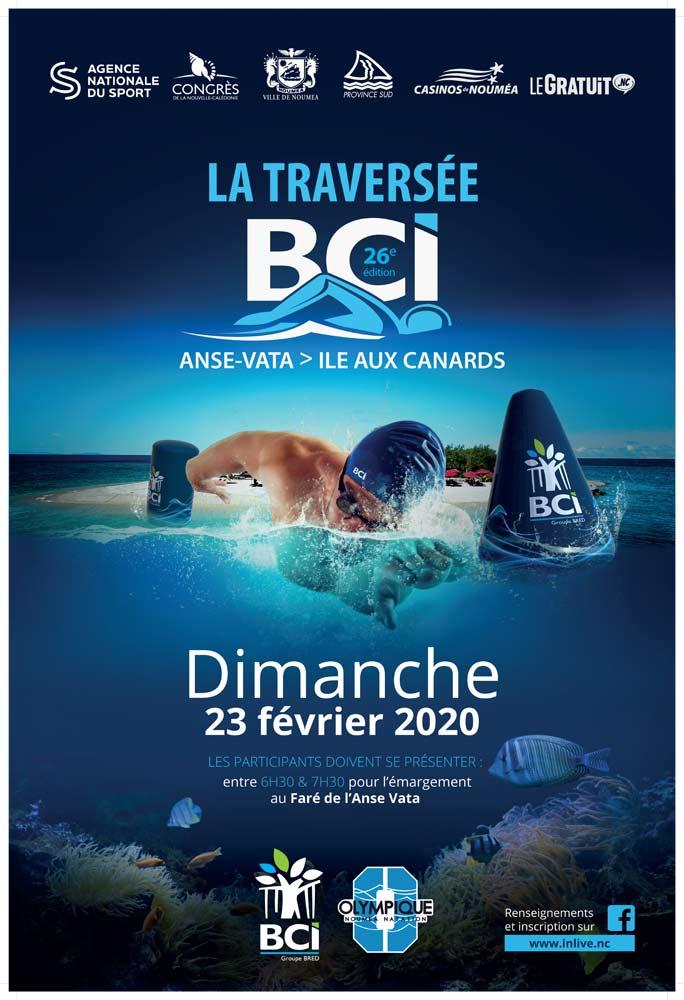 Traversée BCI Anse Vata - Ile aux Canards