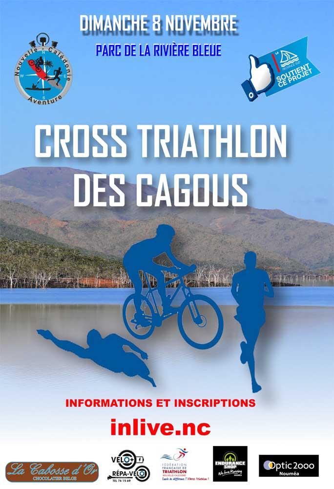 Cross Triathlon des Cagous
