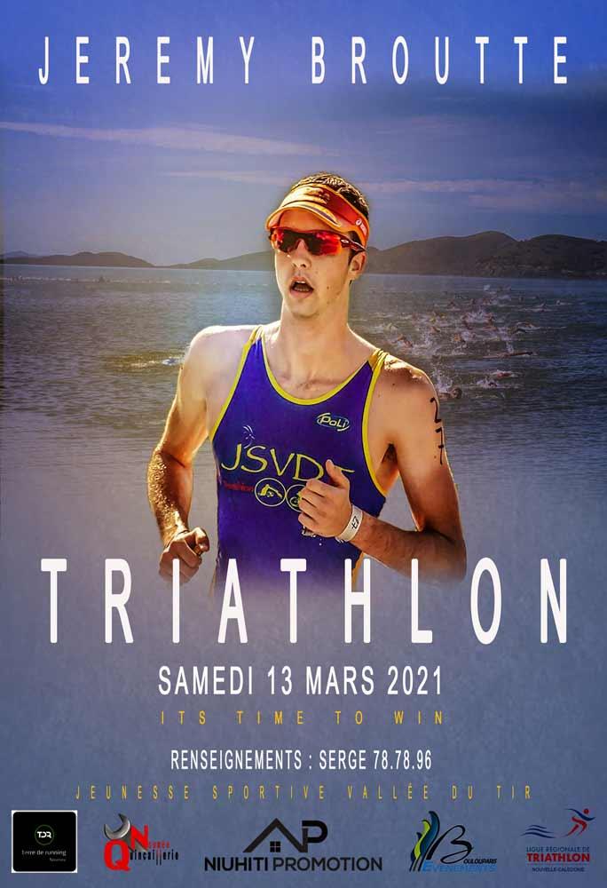 Triathlon Jeremy Broutte
