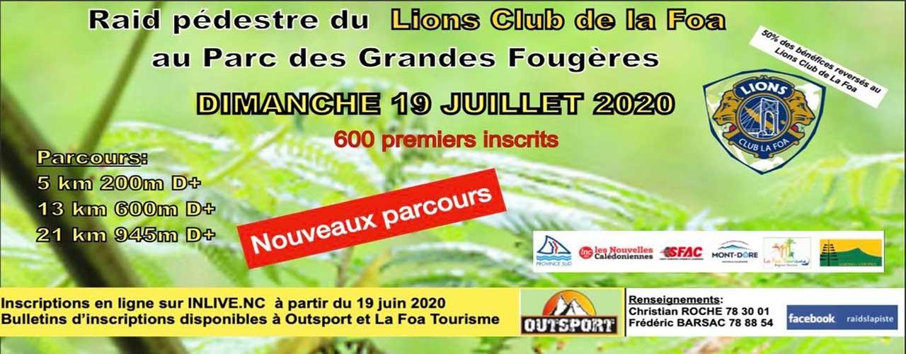 RAID DU LIONS CLUB DE LA FOA