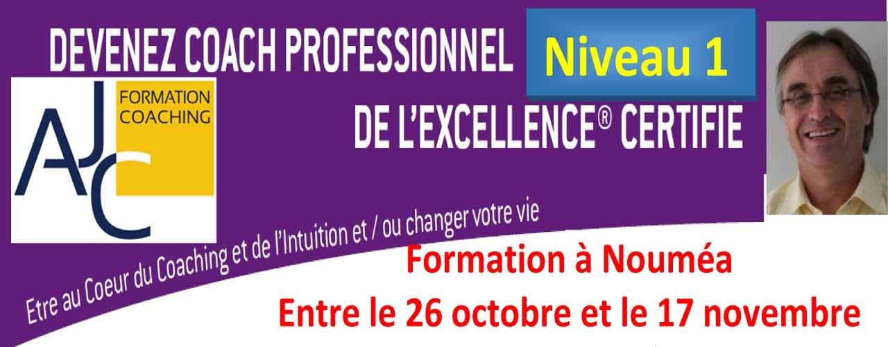 DEVENEZ COACH PROFESSIONNEL DE L'EXCELLENCE