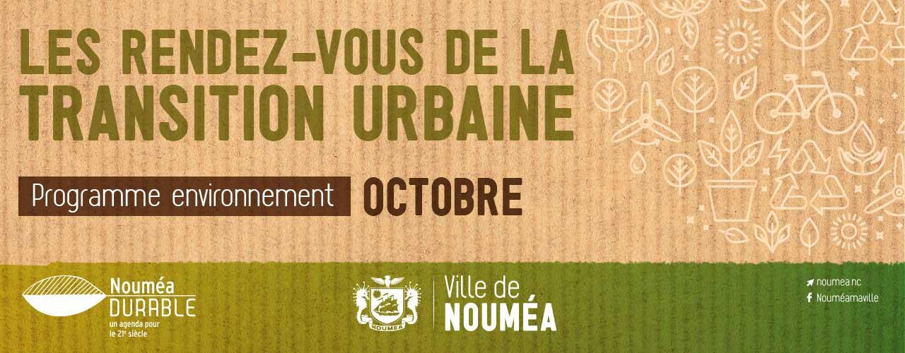 Les Rendez-vous de la transition urbaine de la Ville de Nouméa